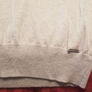 Michael Kors Sweaters - Gray/Silver sweater with glitter detail